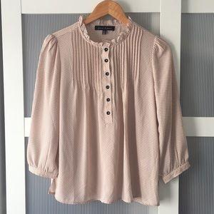 Women's Blush Pink Blouse Size Small